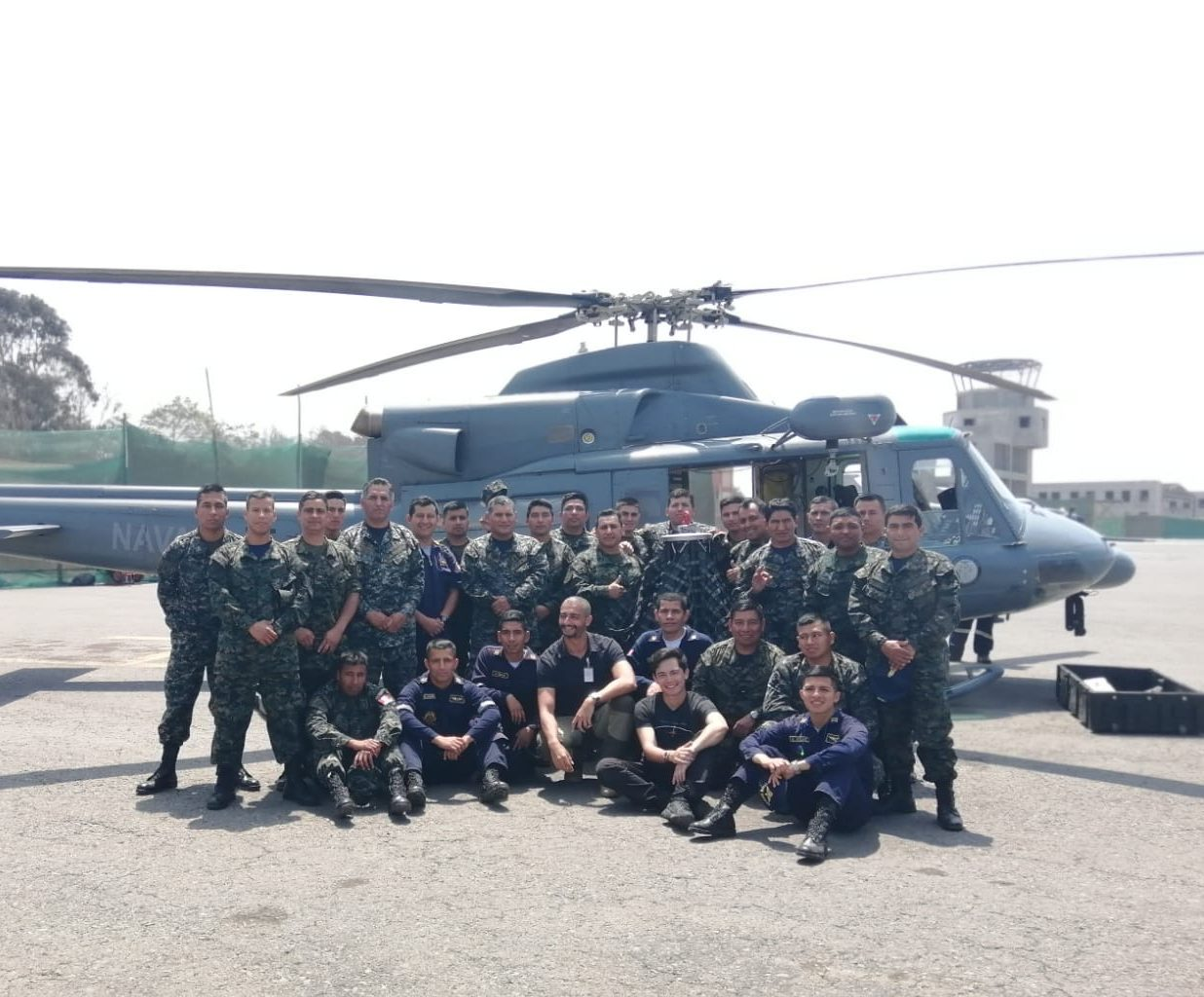 AirTEP training with the Peruvian Navy