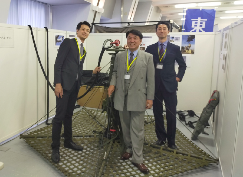 AirTEP exhibited in Japan