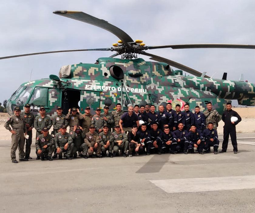 AirTEP training with the Peruvian Army